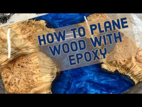 How To Use a Benchtop Planer with Epoxy Resin