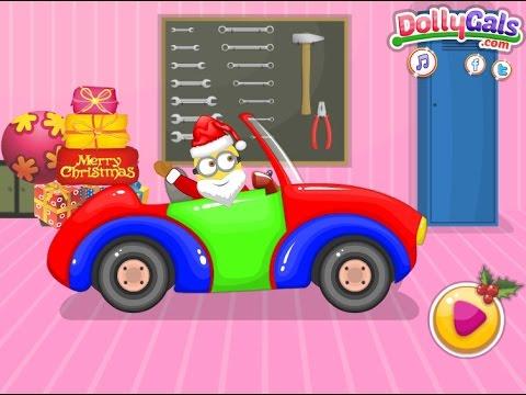 Santa Minion Christmas Car — GAMES FOR KIDS Full - YouTube