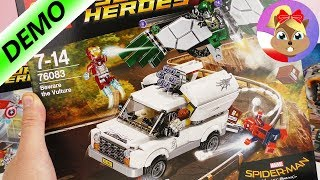 LEGO Spiderman j.polski zestaw 76083 | LEGO Spiderman homecoming | Baw się ze mną