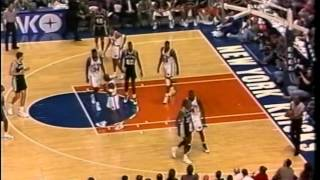 Anthony Mason (New York Knicks) - Defense Highlights vs San Antonio Spurs