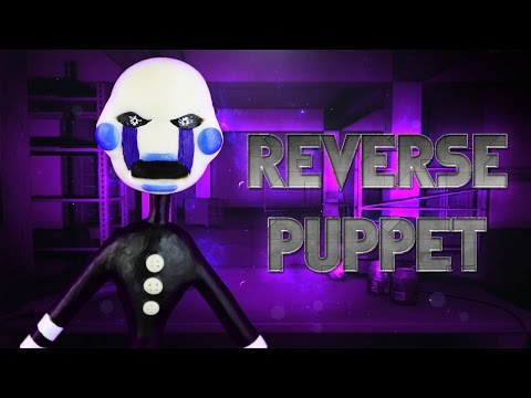 DIY VINNIE / REVERSE PUPPET Cold Porcelain / Polymer Clay Tutorial | Five Nights at Candy's