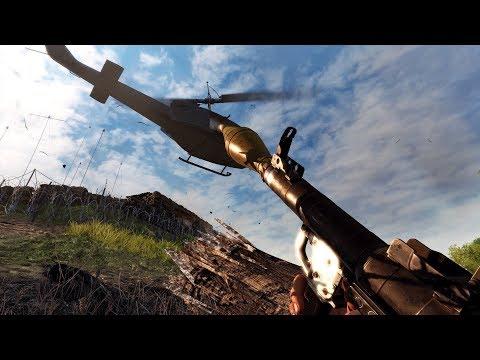 RPG Helicopter Hunter - Rising Storm 2 Vietnam Gameplay  