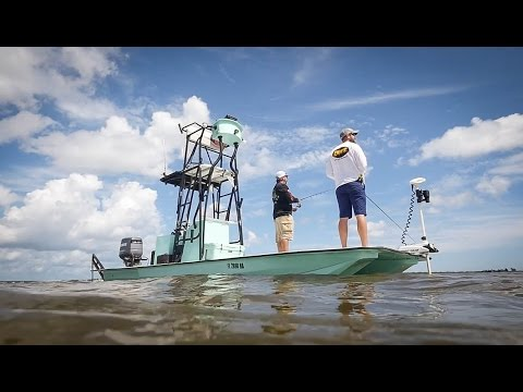 Florida Sportsman Project Dreamboat - Powered Up Shamrock, Custom Caravelle 24