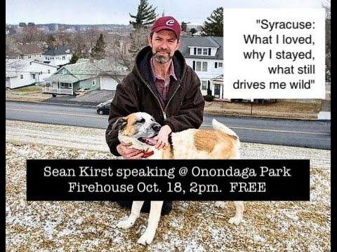 Sean Kirst - Strathmore Speaker series 10.18.15