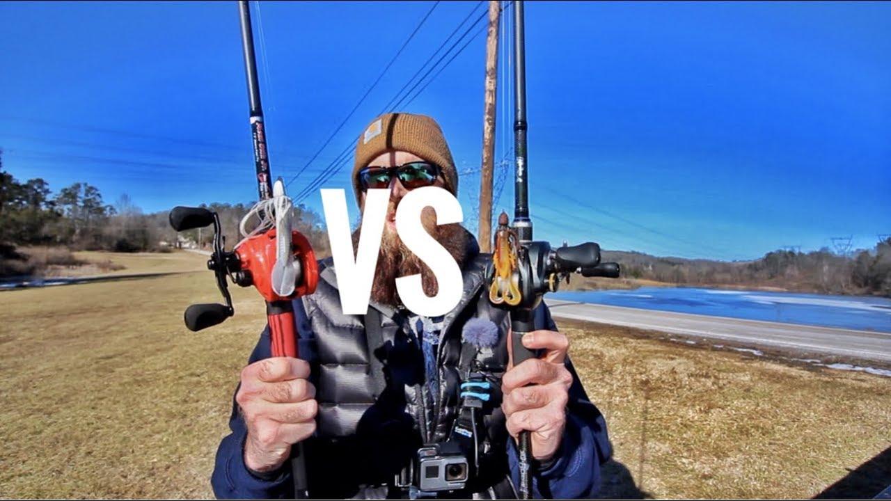 13 fishing concept z vs shimano curado k youtube for Concept z 13 fishing
