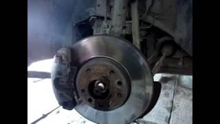 замена подшипника ступицы переднего колеса на опель астра
