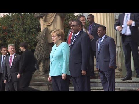 Angela Merkel conclut sa tournée africaine