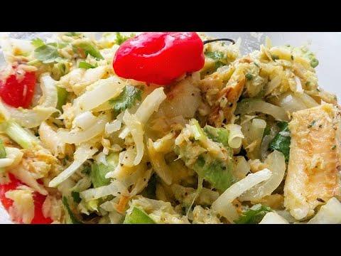 How To Make Saltfish Buljol/Fish Salad