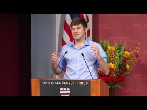 2016 Harvard Kennedy School MPA Class Speaker George Kynaston