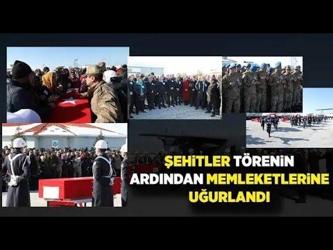#ÇIG #VAN #ŞEHİTLER  //ÇIG ŞEHİTLERİ DUALARLA UĞURLANDI//