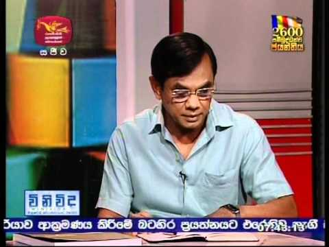 WINIVIDA - Rupavahini Sri Lanka- Interview with Ambassador Udayanga Weeratunga - Part 2