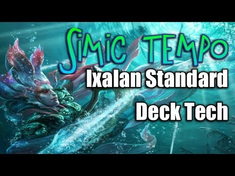 Mtg Deck Tech: U/G Tempo in Ixalan Standard (Miracle Grow is Back!)