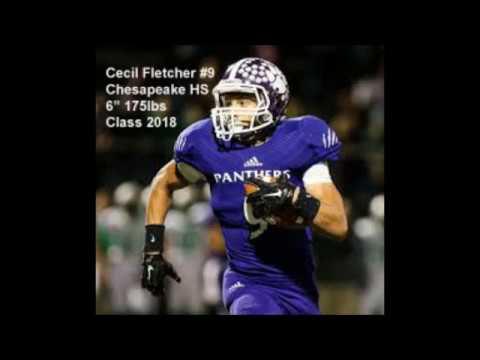 Cecil Fletcher   2016 Jr Football Highlights