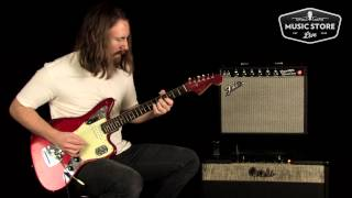 1964 Fender Jaguar Candy Apple Red Tone Review and Demo