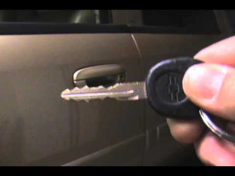 Automotive Lock Raking And Wave Key Information Youtube