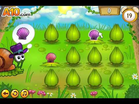 Flash игра Улитка Боб 5 мини игры Snail Bob 5 mini games