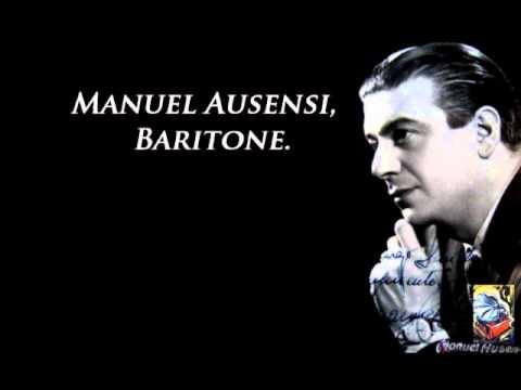 Manuel Ausensi. Quiero volver a empezar. Cole Porter.