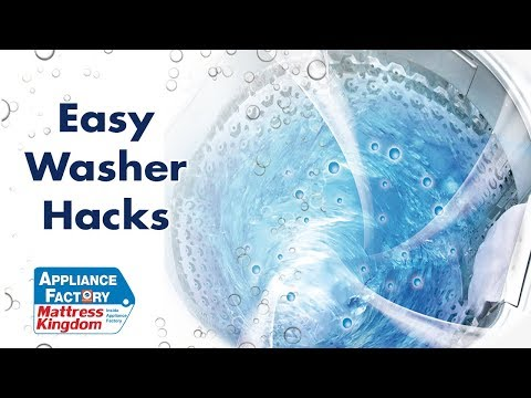How to Trick your Washer into Filling with more Water