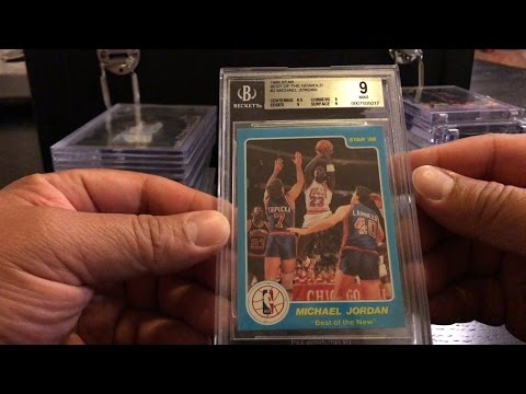 Rare MJ Card Collections. BGS & PSA Graded!