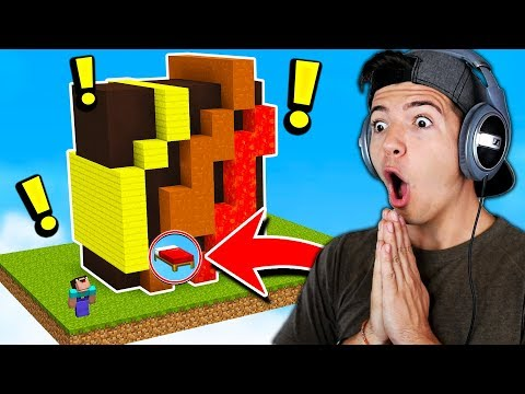 THE ULTIMATE MINECRAFT BED WARS DEFENCE! (Minecraft Bed Wars Trolling)