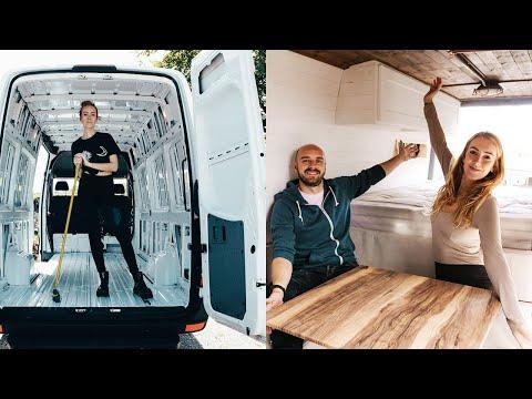 OUR VAN CONVERSION (FULL TIME LAPSE)   DIY Sprinter Van Conversion   #VanLife UK