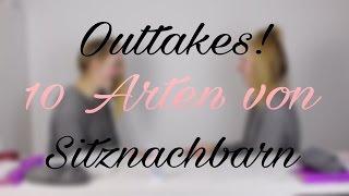 Outtakes! 10 Arten von Sitznachbarn I Finja and Svea