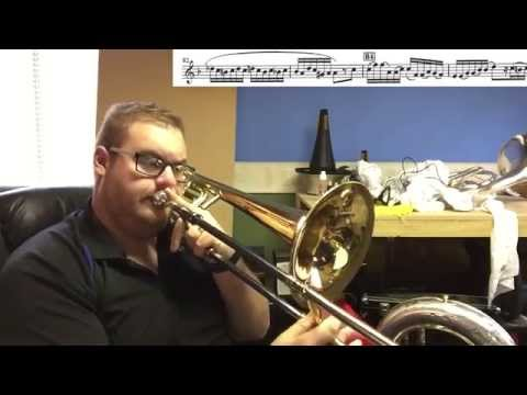 How to play Carnival of Venice on Trombone