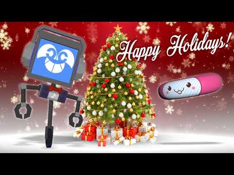 MERRY CHRISTMAS! 🎄 from Fandroid the Musical Robot!