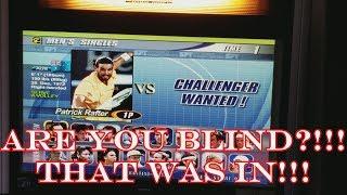 Virtua Tennis 2 Sega Naomi 2 Arcade Gameplay Power Smash 2