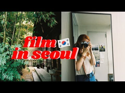 A Day in Korea | developing film and exploring seoul VLOG