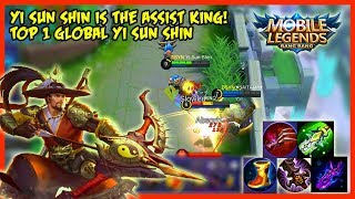 Because of Ult, His Assist is Unbelievable! by Top 1 Yi Sun Shin - Mobile Legends
