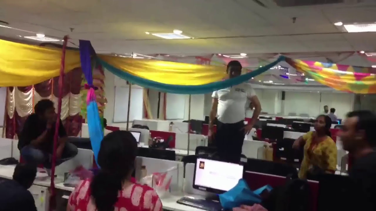 Bay decoration competition at Mumbai office - Time-Lapse ...