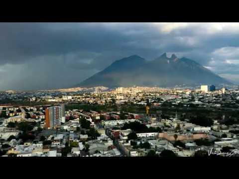 Time Lapse lluvia en el Cerro de la Silla Monterrey Nuevo León