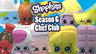 Shopkins Season 6 Chef Club 5 Pack &amp 12 Pack from Moose Toys