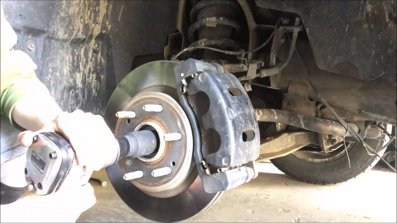 2010 chevy silverado cv axle replacement