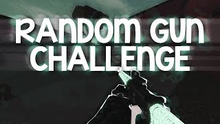 Random Gun Challenge! (Phantom Forces)