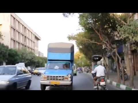 Tehran roadcrossing