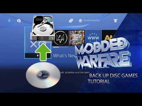 Backup/Decrypt PS4 Disc Games & Run them from the Hard Drive