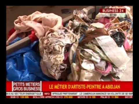 Petits Métiers -Gros Business / Le métier d'artiste peintre à Abidjan