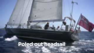 How to sail downwind with poled out headsail – Yachting World Bluewater Sailing Series