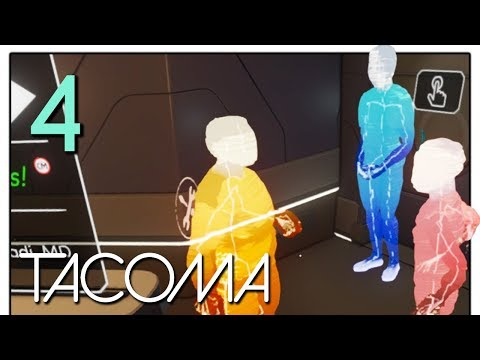 Let's Play Tacoma Part 4 - Oxygen Shortage  [Tacoma Game Blind PC Gameplay]