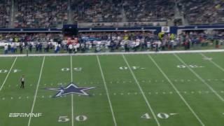 Cowboys Punter Chris Jones Makes the  big stop on Return! | Lions vs. Cowboys | Wk 16 Highlights
