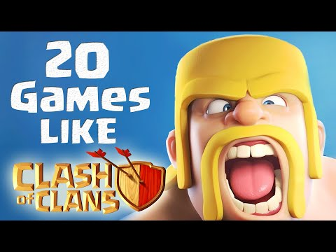 TOP 20 BEST Games Like Clash Of Clans For Android & IOS | COC Strategy