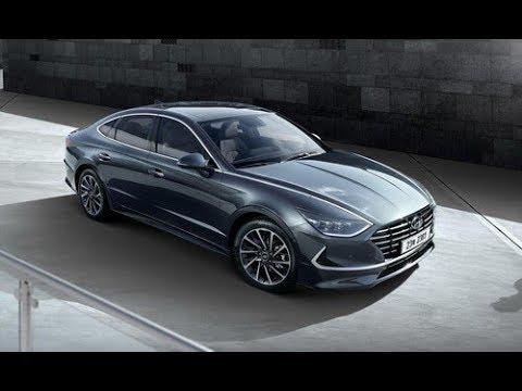 Hyundai Sonata 2020 lộ diện hoàn toàn, đậm phong cách Coupe Sedan