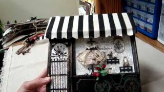 Secret Squirrel Cigar Box Swap - July 2011 - Paris