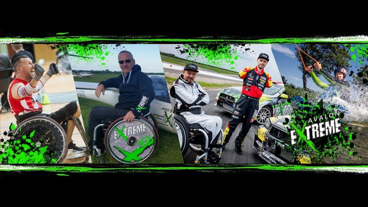 Ekstremalne wyczyny niepełnosprawnych sportowców – Avalon Extreme 2017