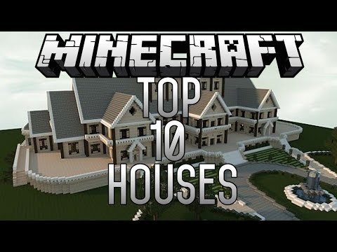 Top 10 EPIC Minecraft Houses (Minecraft 1.8) November 2014