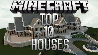 Top 10 EPIC Minecraft Houses (Minecraft 1.8) November 2014