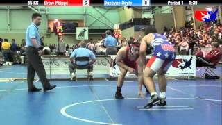 Drew Phipps vs. Donovan Doyle at 2013 FILA Cadet Nationals - FS