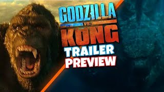 ... at ccxp 2020 we have more teaser trailer footage from godzilla vs king kong. kong will a re...